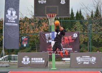 中国大学生3×3篮球联赛陕西赛区球员风采展 (8播放)