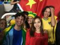 西安外国语大学学子在里约 奥运会志愿者XISUer