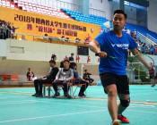 2018年陕西省大学生羽毛球锦标赛暨校长杯比赛 (5)