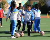 2018年中国足协D级教练员培训班走进马腾空小学