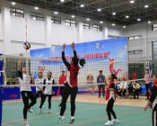 2018年陕西省首届大学生气排球比赛