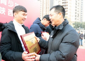 陕西省大学生校园足球联赛在西安邮电大学落幕 (167播放)