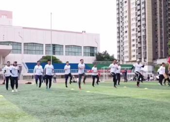 2019年陕西省高校足球运动表现专项课程培训班开班 (47播放)