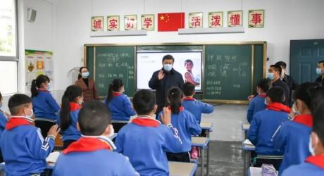 习近平:孩子们要文明精神 野蛮体魄