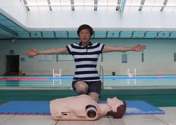 2020年防溺水、游泳安全公益宣讲系列活动(之三)心肺复苏 (481播放)