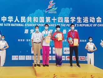 全国学生运动会陕西代表团再添一银