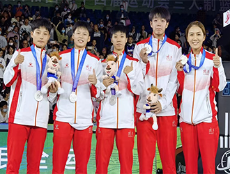 西安交大附中女篮获全运会三人制篮球U19组亚军
